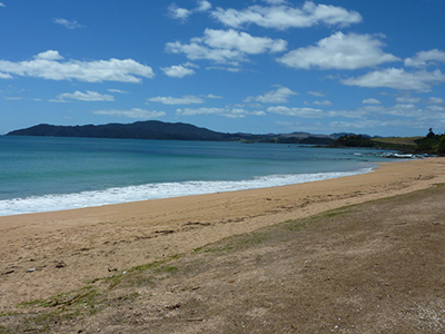 Places to see in Taupo Bay Northland New Zealand - visit Taipa and Coopers Beach
