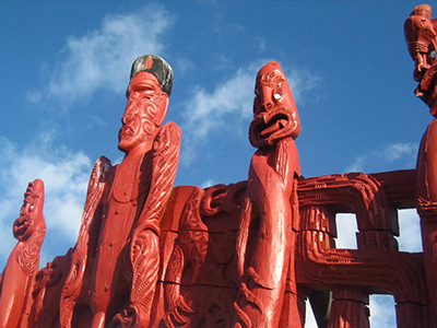 Things to do in Taupo Bay Northland New Zealand - see the Maori Carving in the Waitangi Treaty Grounds